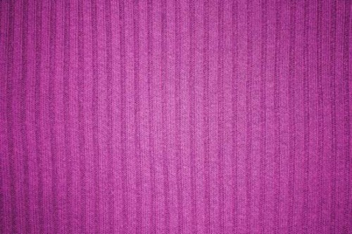 Magenta Ribbed Knit Fabric Texture