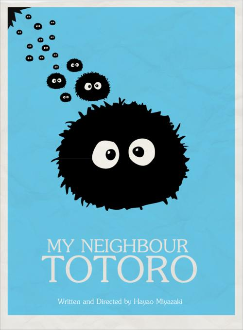 My Neighbour Totoro by callummacinnes