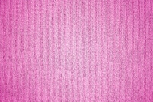 Pink Ribbed Knit Fabric Texture