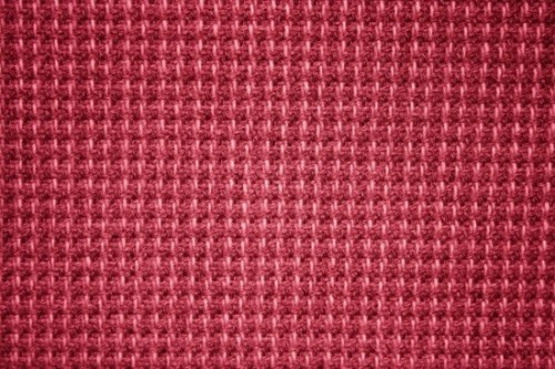 Red Upholstery Fabric Texture