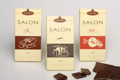 Salon de Noir Chocolate Packaging Design