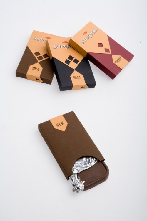 Schogetten Chocolate Packaging