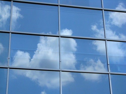 Sky Reflections in windows