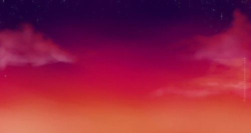 Twitter Background Sunset Clouds