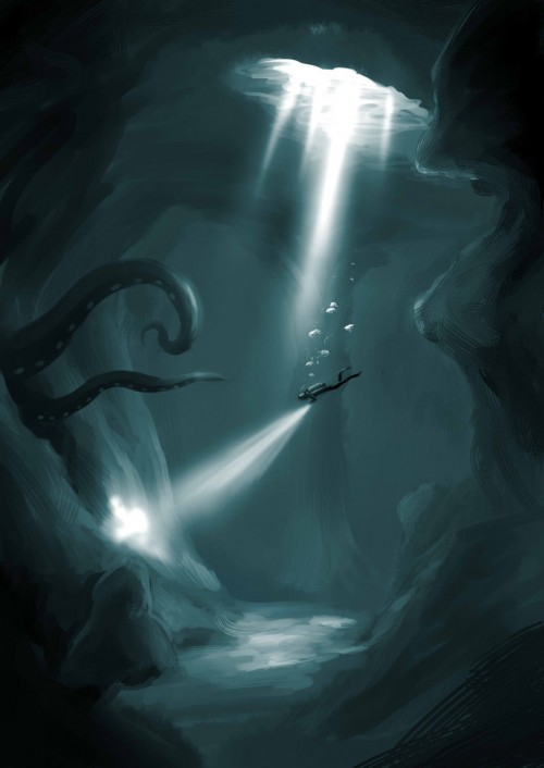 Uncharted Underwater Cave