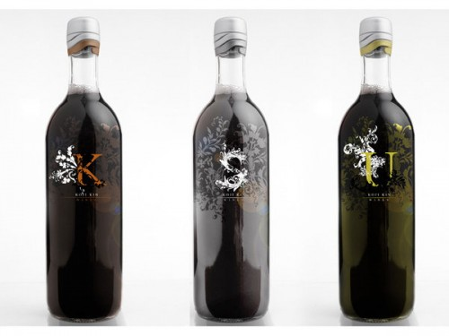 koji kin wine label together