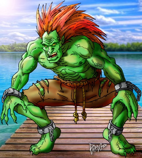 BLANKA by Pardocomics
