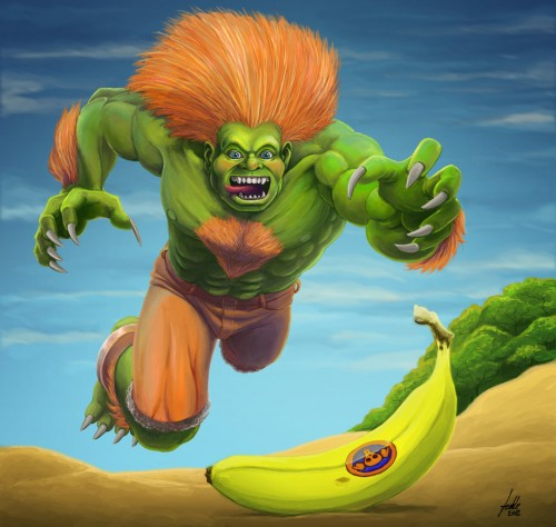 Blanka SF 25an. Tribute