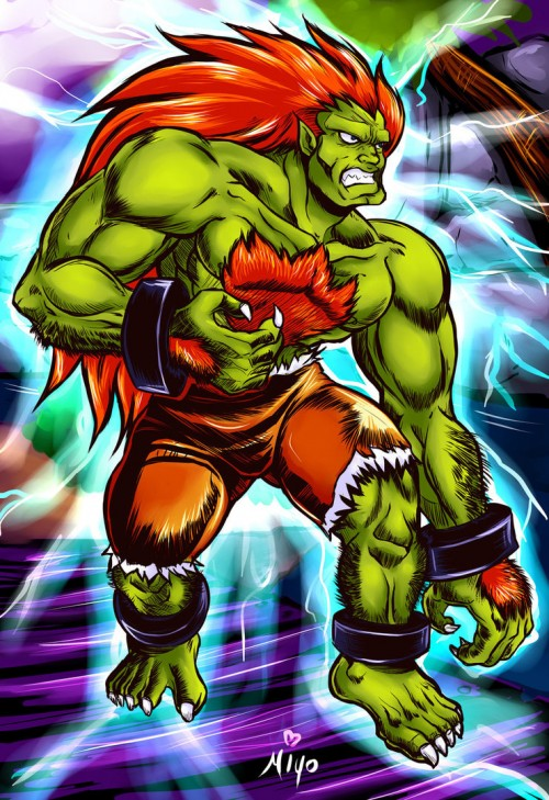 High Energy Blanka