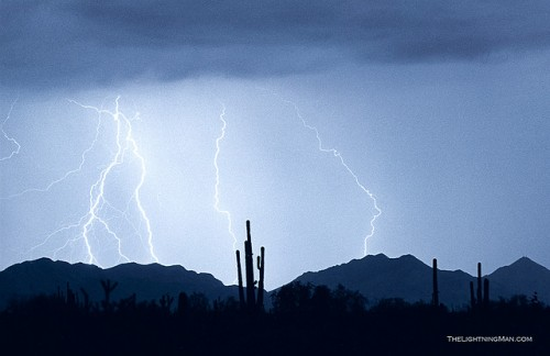 Desert Lightning Blues