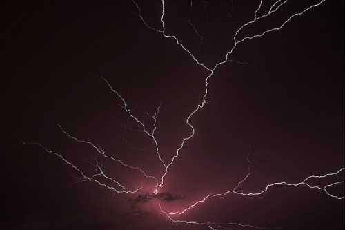 Lightning by Vinod Kumar M