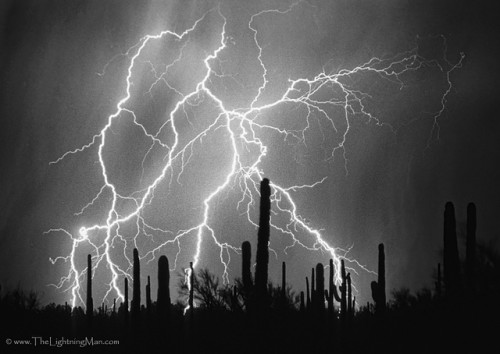 White and black photography lightning video