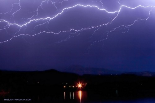 Could to Cloud Horzonal Lightning Strikes