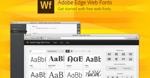 Edge Web Fonts