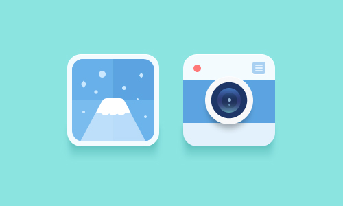 Cool Flat Icons