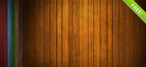 Free Wood Background PSD