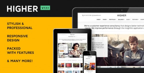 Higher Premium WordPress Theme