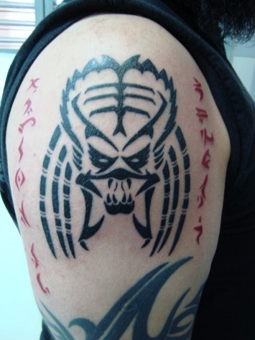 New Tattoo - Predator Tribal