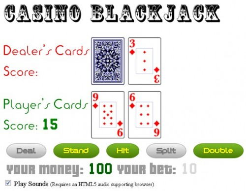 HTML5 Blackjack