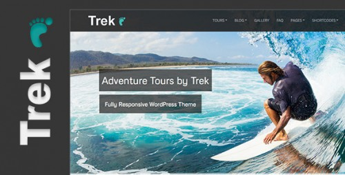 Trek - Responsive WP Tour, Travel Theme