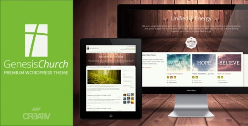 Genesis Church - Responsive WordPress Them