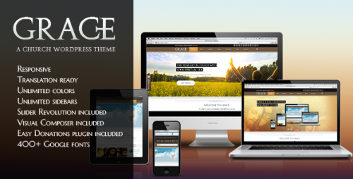 Grace - Responsive Church WordPress Theme