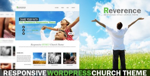 Reverence - Church Responsive WP HTML 5 Theme