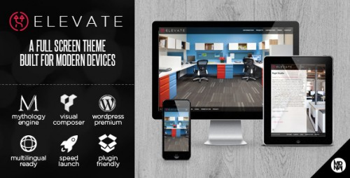 Elevate - Full Screen Theme for WordPress