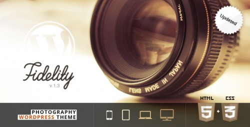 Fidelity - Premium Photography WP Theme