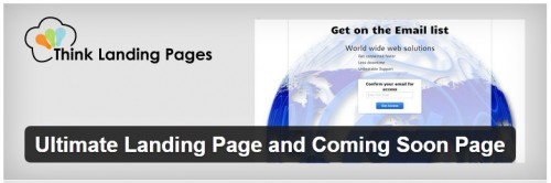 Ultimate Landing Page and Coming Soon Page