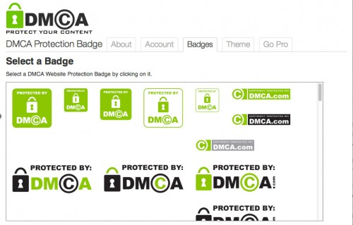 DMCA Protection Badge