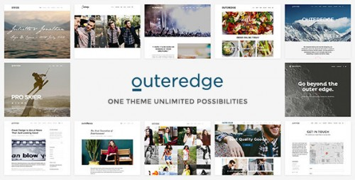 Outeredge - Responsive Multi-Purpose Theme