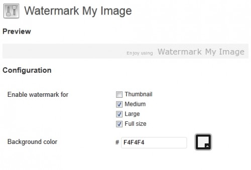 Watermark My Image