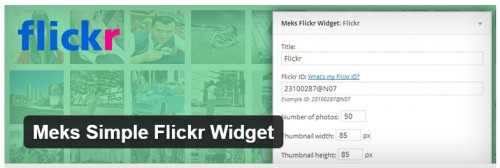 Meks Simple Flickr Widget