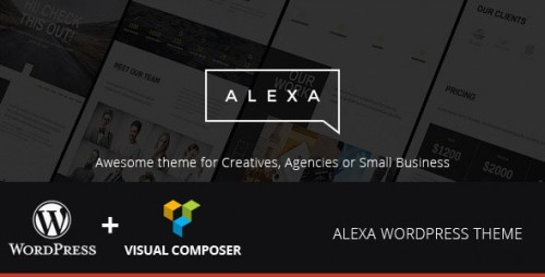 Alexa - Creative WordPress Theme
