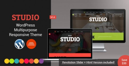 Studio - Multipurpose Technology WordPress Theme