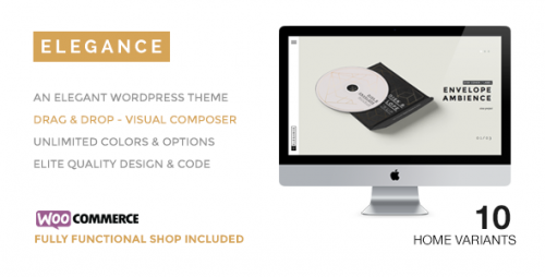 ELEGANCE - A Creative WordPress Theme with Shop