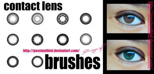 10 Contact Lens Brushes To Free Download