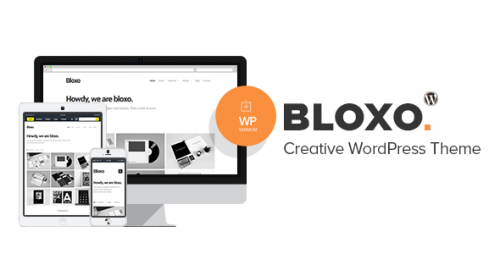 Bloxo - Minimal Freelancer Agency WordPress Theme