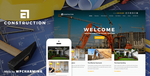 Construction - WP Construction, Building Business Theme
