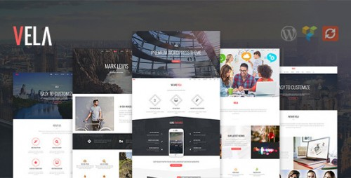 Vela - Responsive Business Multi-Purpose Theme