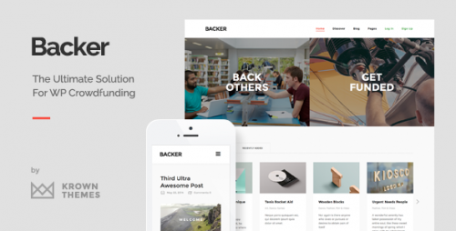 Backer - WordPress Crowdfunding Theme