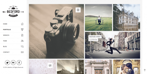 Bedford - Responsive Portfolio WordPress Theme