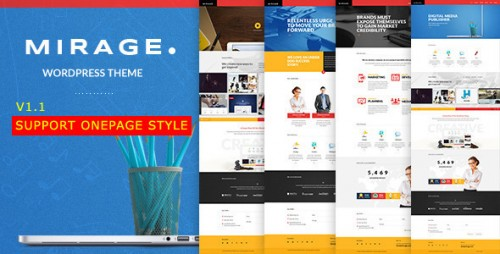 Mirage - Portfolio for Freelancers & Agencies Theme