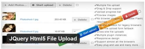 JQuery Html5 File Upload