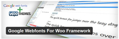 Google Webfonts For Woo Framework