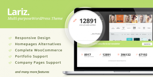 Lariz - Multipurpose WooCommerce Theme