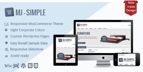 MJ Simple - Responsive WooCommerce Theme