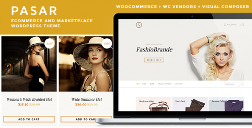 Pasar - eCommerce and Marketplace WordPress Theme