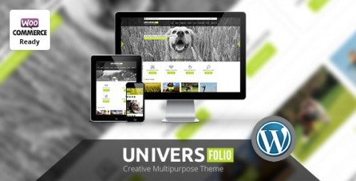 Universfolio - Multipurpose WordPress Theme